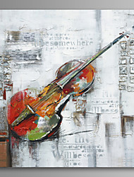Violin Wall Art Canvas Print Ready To Hang