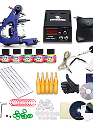 beginner tattoo kit 1 machine professionele tattoo videogids