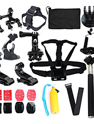 Monopod Tripod Protective Case Case/Bags Screw Floating Buoy Suction Cup Straps All in One Convenient ForGopro 5 Gopro 4 Gopro 4 Silver