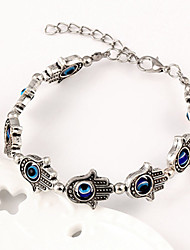 Fashion Women European Style Evil Eye Hand Bracelet(Random Color)