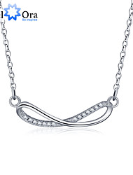 New Accessories 925 Sterling Silver  Women  Cubic Zirconia Necklaces & Pendants