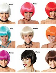 fabricants de perruque de vente Vente en gros la tête de Bobo perruque style chaud de style euroaméricains
