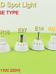 Faretti LED 24/29 SMD 5050 JHX G50 E14 / GU10 / E26/E27 4W Decorativo 320 LM Bianco caldo / Bianco 1 pezzo AC 110-130 V