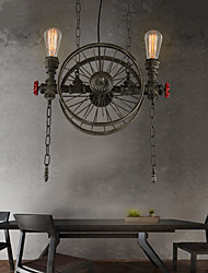 American Bar Iron wheel Chandelier