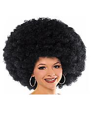 Elegant Goddess Christmas Halloween Party Wig Cosplay Wig Black Color