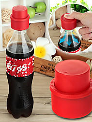 Coke Sprite Beverage Bottle Stopper Cap - Red