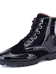 Men's Shoes Casual Boots Black / Blue / Red