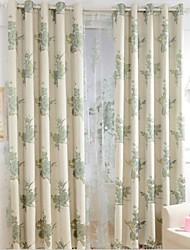 две панели Европа элегантный полноценно моды белье жаккард шторы