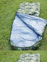 Sleeping Bag Rectangular Bag Single Cotton 210cmX75cm Camping / Beach / Traveling / HuntingMoistureproof / Dust Proof / Windproof / KEEP