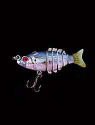Hot 2'' 2.5 Grams Slow Sinking Jointed Swimbait Bluegill Shad Crankbait New Fishing Lure