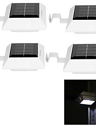 YouOKLight® 4PCS 0.5W 4-LED White Light Solar Power Panel Lights For Garden Light Solar Lamp-White