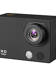 """A3 HD 1080P Waterproof 2MP Sports Digital Video Camera with 2"""" TFT / CMOS/120 Degrees Wide Lens - Black"""