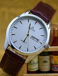 L.WEST Men's Waterproof Calendar Quartz Pointer Watch Wrist Watch Cool Watch Unique Watch