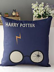"43cm*43cm 17""*17"" Harry Potter Cotton / Linen Cotton&linen Pillow Cover / Throw Pillow With No Insert"