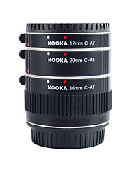Kooka KK-c68a расширения алюминия AF трубы для Canon EF&EF-S 12mm 20mm (36mm) зеркальных камер