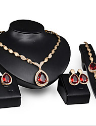 Women's Alloy / Rhinestone Jewelry Set