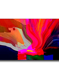 IARTS®Abstract Color Line on Canvas Decorated Your White Wall