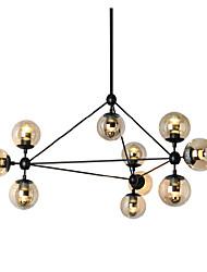 arañas de luces Ecolight ™ 10 / luces de la bola de cristal / roo de estar retro / pasillo / al aire libre / metal garaje