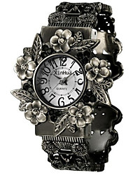 Vintage Fashion Women's Watches Openwork Flowers Bracelet Watches Cool Watches Unique Watches