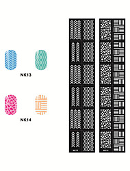 Hollow Out Nail Art Stickers NK13-14(2PCS)