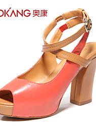 Aokang® Women's Leather Sandals - 132711013