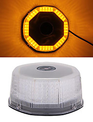 Strobe Emergency Warning Car Roof Top Light 240 LED Amber with Magnetic Base