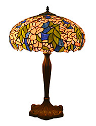 16 inch Stained Glass Tiffany Style Table Lamp Decorative Desk Light Home Decor