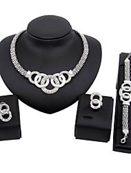 Vintage / Niedlich / Party / Freizeit - Damen - Halskette / Ohrring / Armband / Ring ( Legierung )