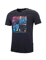 Men's Running Tops/T-shirt Camping & Hiking/Fitness/Badminton/Football/RunningBreathable/Anatomic Design/Lightweight