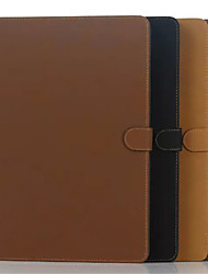 récent étui portefeuille style décontracté pu tablette protéger coque avec support pour iPad pro 12.9 couleurs assorties
