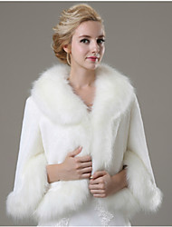 Wedding / Party/Evening / Casual Faux Fur Coats/Jackets Long Sleeve Fur Coats