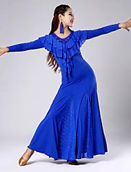 Robes ( Noire / Bleu / Vert / Rouge , Tulle / Viscose , Danse moderne ) Danse moderne - pour Femme