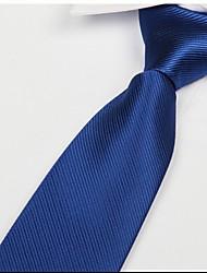 Classic Royal homens azuis seta tie sarja jacquard adulto gravata