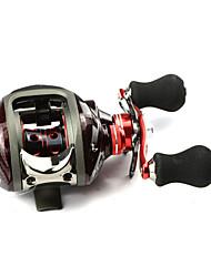 DMK DM120RA-C4 12Bearing Bait Casting Fishing Reel Gear Ratio 6.3:1 Max Drag 5kg Right Handle  Magnetic Brake