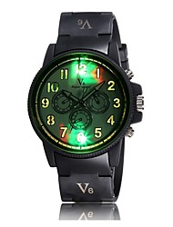 Personalized luminous color digital scale table fashion watches