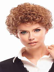 High Quality  European Lady Women  Wave Wigs Elegant  Syntheic Wig