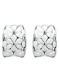 Damen Ohrring Legierung Ohne Stein Stud Earrings