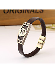 Spider pattern retro metal bracelet bracelet jewelry leather bracelet popular in Europe and America(bracelet)