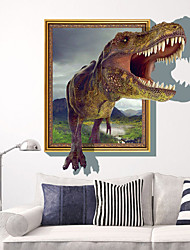 3D Sticker Wall Dinosaur Stickers for Dining Room Kid Room Decorations Wall Decals Wall Art Decor