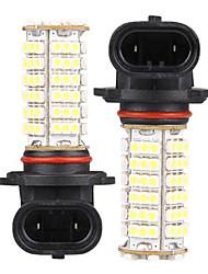 2 HB4 9006 102 SMD LED White Car Fog Bulb Lamp Light