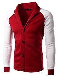 Pulls & Hoodies ( Coton / Polyester ) Informel Col roulé à Manches longues pour Homme