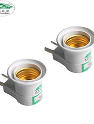 zweihnder E27 от розетки двойной переключатель плагин патрон лампы розетка вилка 250v 6а для бытовых промышленного освещения