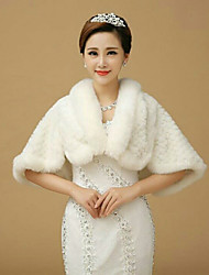 Sleeveless Wedding / Party/Evening Imitation Cashmere Capelets Bridal Wraps/ Shawls