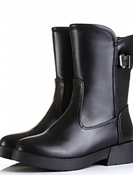Women's Shoes Low Heel Riding Boots Boots Casual Black