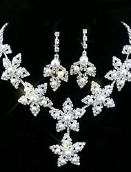 Alliage / Zircon Cubiques / Imitation Perle / Plaqué Argent , Autre Vintage / Soirée pour Femme
