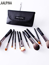 Stellaalpina Travel Pack 11 Professional Makeup Brush Makeup Brush Sets