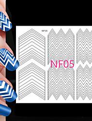 82pcs различные размеры профессиональная модель решений ногтей инструмент # 05