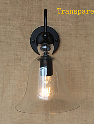 40W 110-240V American Rural Countryside Pastoral Ikea Minimalist Living Room Hallway Decorated Glass Wall Sconce