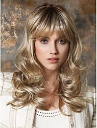 Blonde Color Wigs White Women European Synthetic Black Women Wigs