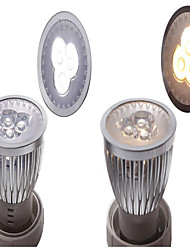3W 3LED 300LM LED Spotlight Lighting Silver Assorted-color